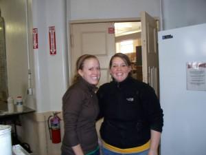 Megan and Jill