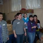 Volunteers, Volunteers and more Volunteers