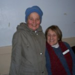 Kathy our piano player with guest